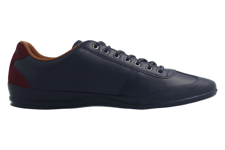 Lacoste Sneaker in Übergrößen Blau 7-34CAM0046003 große Herrenschuhe – Bild 4