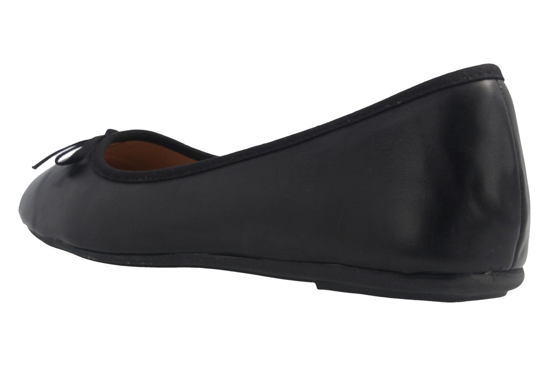 Fitters Footwear Ballerinas in Übergrößen Schwarz 2.589609 Helen Schwarz PU große Damenschuhe – Bild 2
