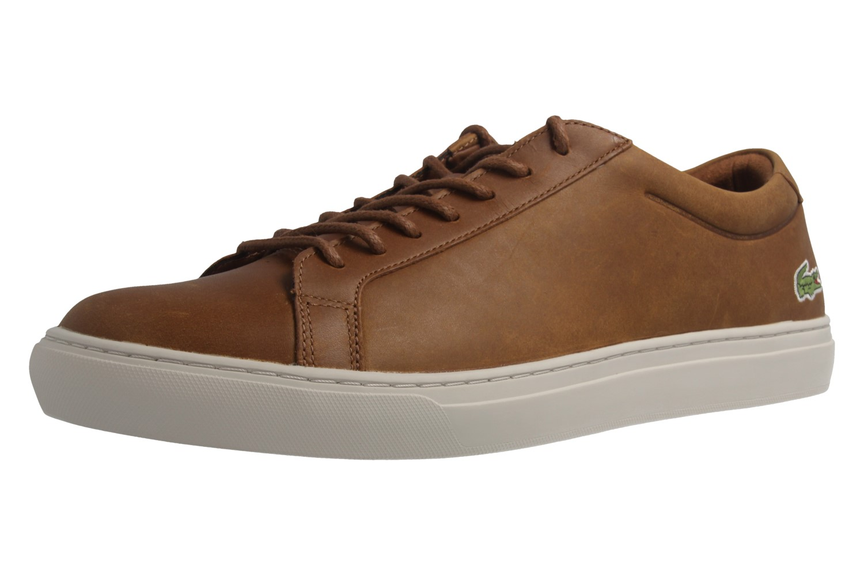 Lacoste Sneaker in Übergrößen Braun 7-34CAM0031078 große Herrenschuhe – Bild 1