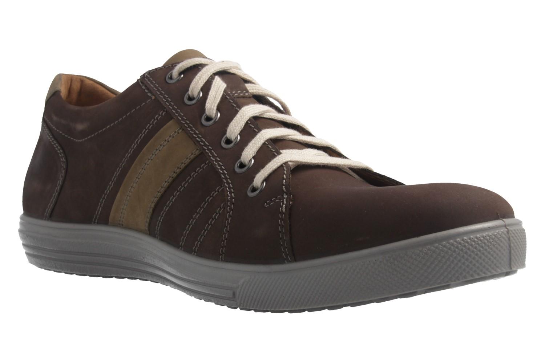 JOMOS - Herren Halbschuhe - Braun Schuhe in Übergrößen – Bild 5