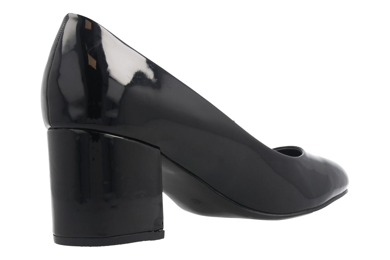 Fitters Footwear Pumps in Übergrößen Schwarz 2.978609 Black Lack große Damenschuhe – Bild 3