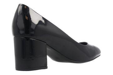 FITTERS FOOTWEAR - Sesy - Damen Pumps - Schwarz Lack Schuhe in Übergrößen – Bild 3