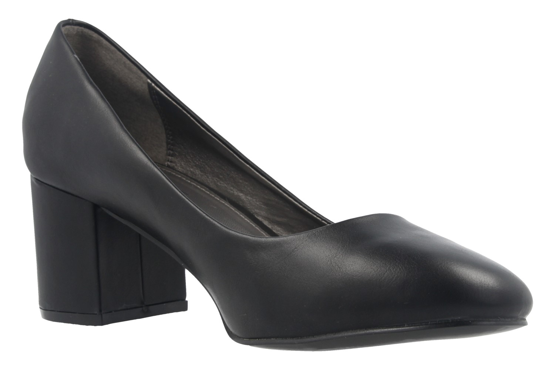 Fitters Footwear Pumps in Übergrößen Schwarz 2.978609 Black PU große Damenschuhe – Bild 5