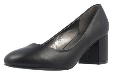 Fitters Footwear Pumps in Übergrößen Schwarz 2.978609 Black PU große Damenschuhe – Bild 1