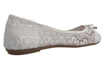 Fitters Footwear Ballerinas in Übergrößen Weiß 2.514377 Tina Weiß große Damenschuhe – Bild 3