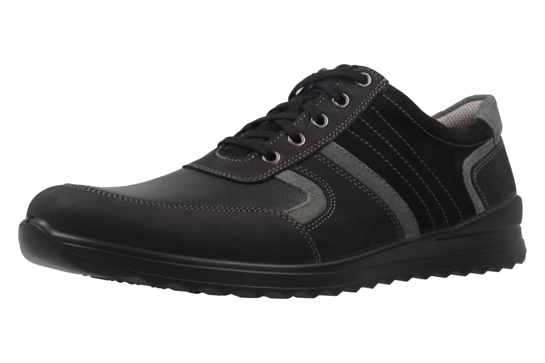 JOMOS - Herren Halbschuhe - Schwarz Schuhe in Übergrößen – Bild 1
