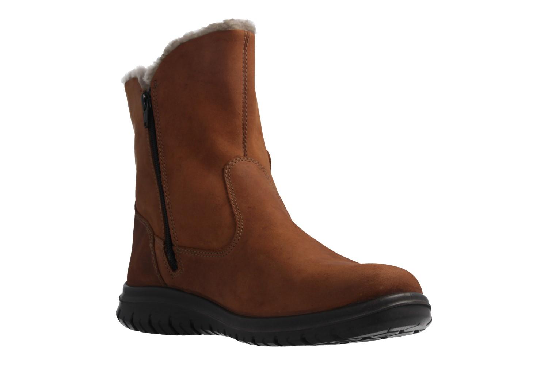 JOMOS - Damen Boots - Braun Schuhe in Übergrößen – Bild 5