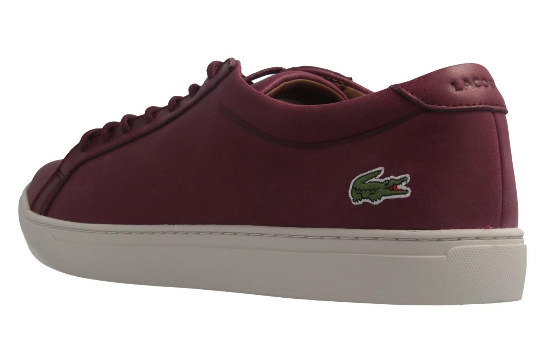 LACOSTE - L.12.12 317 1 CAM - Herren Sneaker - Rot Schuhe in Übergrößen – Bild 2