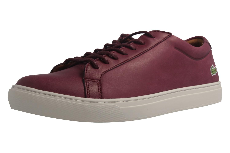 LACOSTE - L.12.12 317 1 CAM - Herren Sneaker - Rot Schuhe in Übergrößen – Bild 1