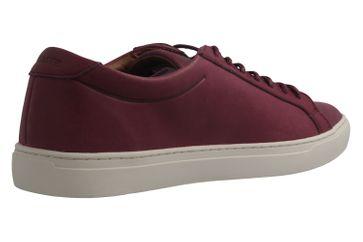 Lacoste Sneaker in Übergrößen Burgund 7-34CAM00311V9 große Herrenschuhe – Bild 3