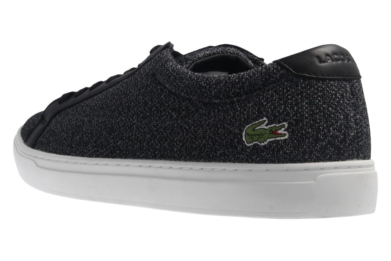 Lacoste Sneaker in Übergrößen Schwarz 7-34CAM0032024 große Herrenschuhe – Bild 2