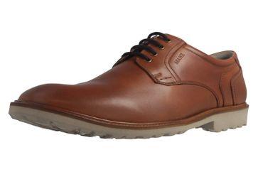 MANZ - Firenze - Herren Halbschuhe - Braun Schuhe in Übergrößen