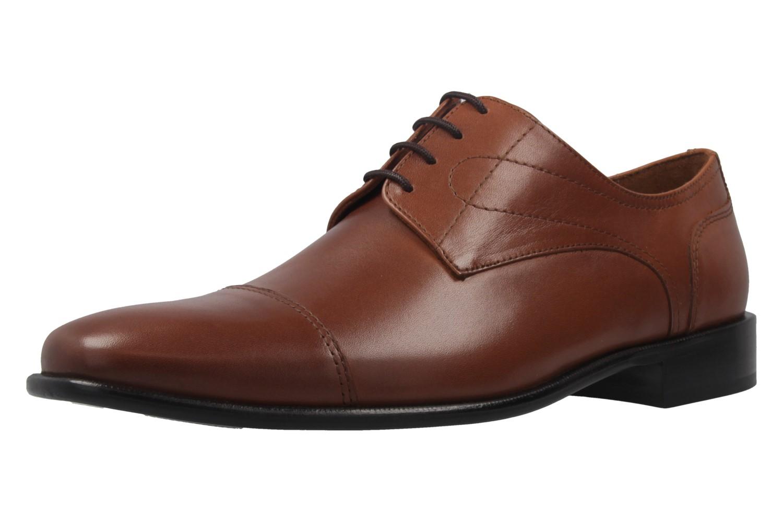 MANZ - Essex - Herren Halbschuhe - Braun Schuhe in Übergrößen – Bild 1