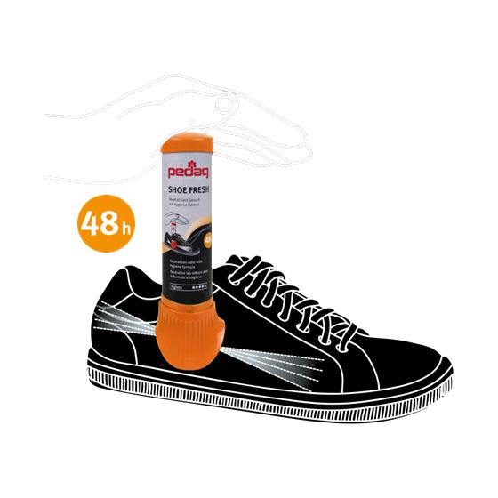 pedag  - Shoe Fresh Spray bis zu 48 Stunden - Neutralisiert Geruch 100 ml – Bild 2