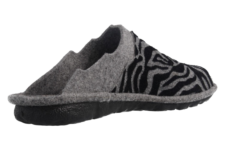 ROMIKA - Mikado 07 - Damen Hausschuhe - Grau Schuhe in Übergrößen – Bild 3
