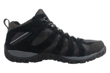 Columbia - Redmond MID WP - Herren Outdoor - Trekkingschuhe - Schwarz Schuhe in Übergrößen – Bild 4