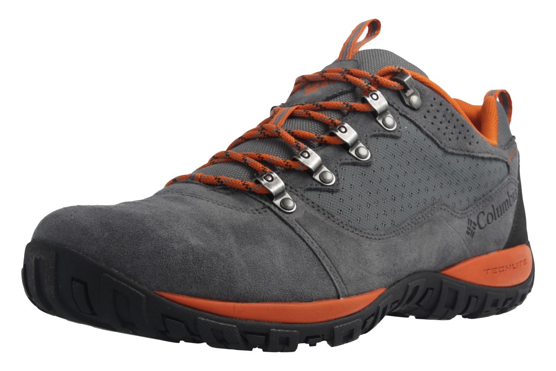Columbia - Peakfreak Venture Low WP - Herren Outdoor  - Grau Schuhe in Übergrößen – Bild 1