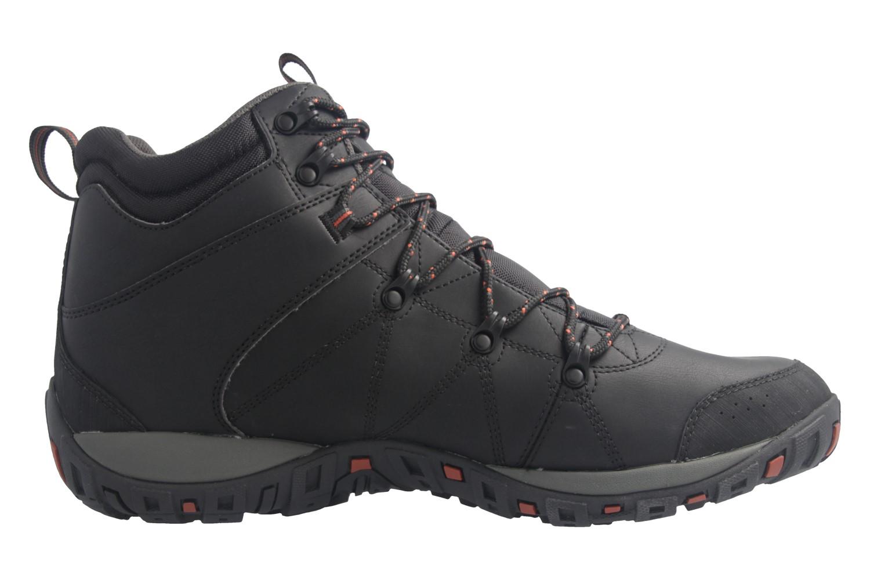 Columbia Outdoor Trekkingschuhe in Übergrößen Schwarz BM 3991-010 große Herrenschuhe – Bild 3