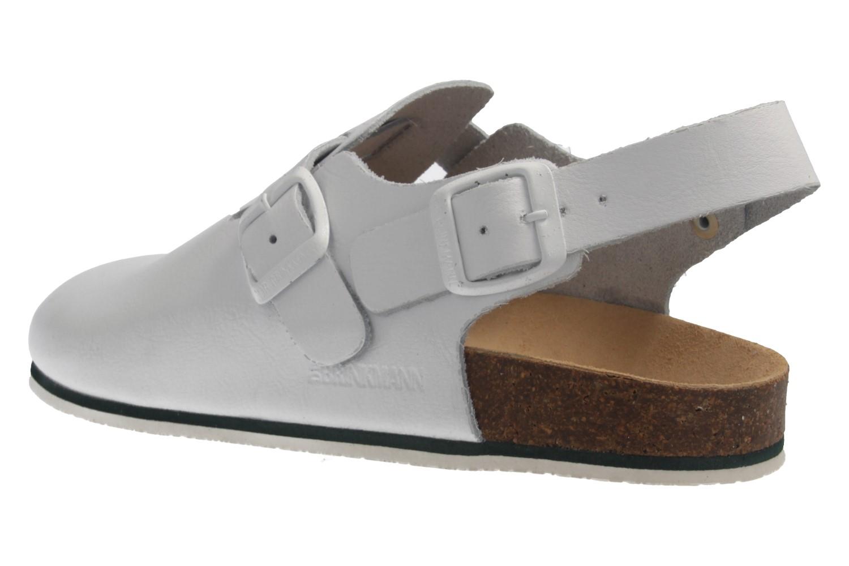 DR. BRINKMANN - Clog Weiß - Schuhe in Übergrößen – Bild 2