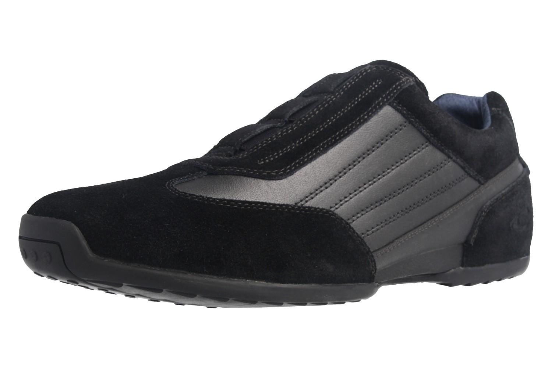 CAMEL ACTIVE - Herren Halbschuhe Slipper Space - Schwarz Schuhe in Übergrößen – Bild 1