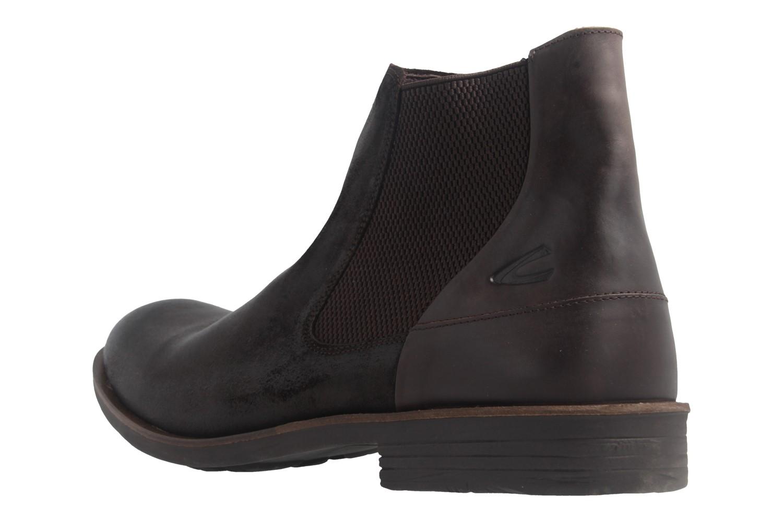CAMEL ACTIVE - Herren Chelsea Boots Check - Braun Schuhe in Übergrößen – Bild 2