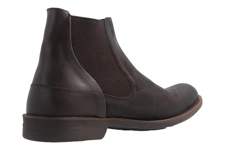 CAMEL ACTIVE - Herren Chelsea Boots Check - Braun Schuhe in Übergrößen – Bild 3