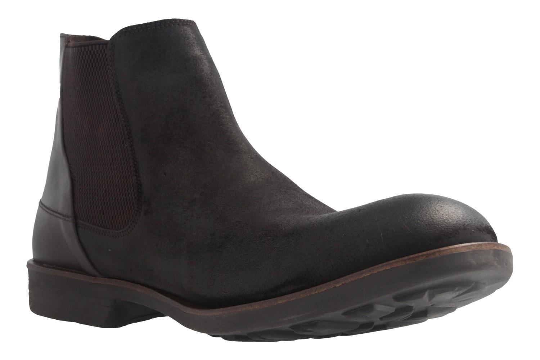 CAMEL ACTIVE - Herren Chelsea Boots Check - Braun Schuhe in Übergrößen – Bild 5