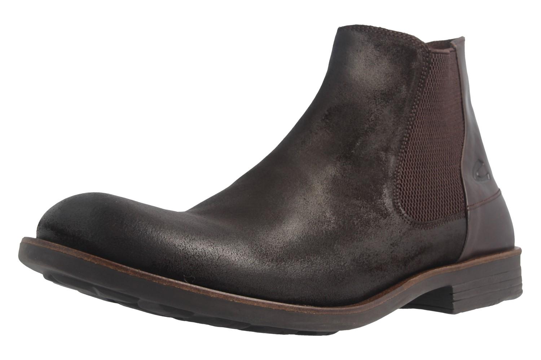 CAMEL ACTIVE - Herren Chelsea Boots Check - Braun Schuhe in Übergrößen – Bild 1