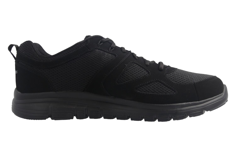 Skechers BURNS AGOURA Sneakers in Übergrößen Schwarz 52635/BBK große Herrenschuhe – Bild 4