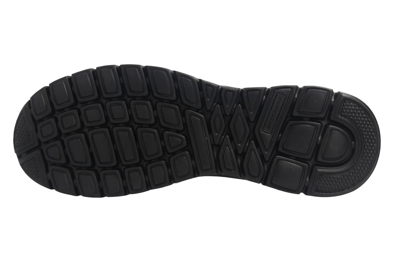Skechers BURNS AGOURA Sneakers in Übergrößen Schwarz 52635/BBK große Herrenschuhe – Bild 6