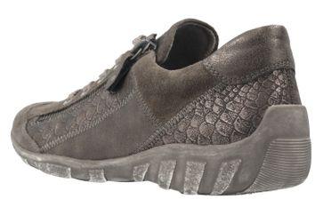 REMONTE - Damen Halbschuhe - Grau Schuhe in Übergrößen – Bild 2