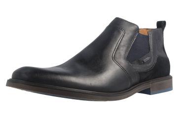 FRETZ MEN - Herren Chelsea Gore Tex Boots- Oskar - Schwarz Schuhe in Übergrößen – Bild 1