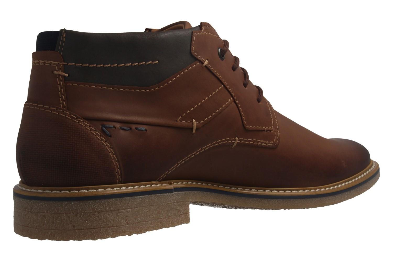 FRETZ MEN - Herren Business Gore Tex Boots - Andrew - Braun Schuhe in Übergrößen – Bild 3