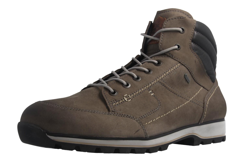 FRETZ MEN - Herren Business Gore Tex Boots - Walk - Grau Schuhe in Übergrößen – Bild 1