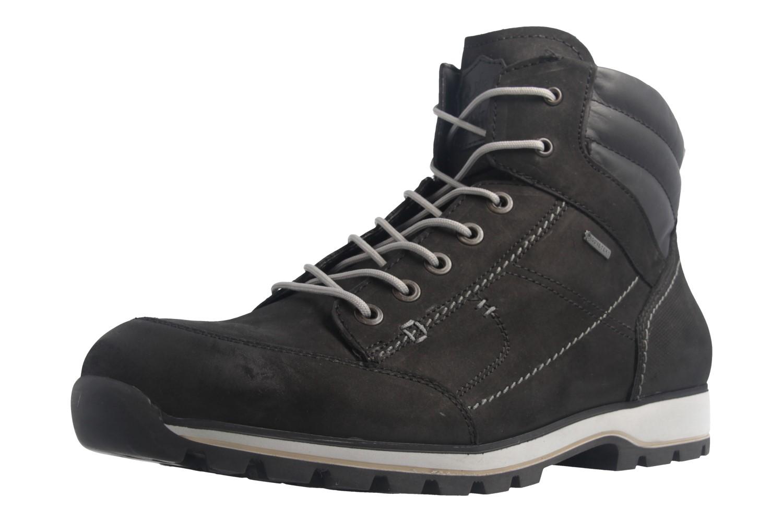 FRETZ MEN - Herren Business Gore Tex Boots - Walk - Schwarz Schuhe in Übergrößen – Bild 1
