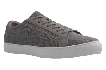 Lacoste Sneaker in Übergrößen Grau L12.12.317_3GRY große Herrenschuhe – Bild 5