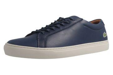 Lacoste Sneaker in Übergrößen Blau L12.12.317_1NVY große Herrenschuhe – Bild 1