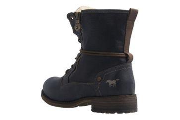 Mustang Shoes Boots in Übergrößen Blau 1139-629-800 große Damenschuhe – Bild 2