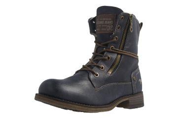 Mustang Shoes Boots in Übergrößen Blau 1139-629-800 große Damenschuhe – Bild 1
