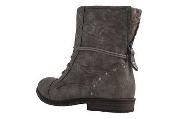 MUSTANG - Damen Boots - Silber Schuhe in Übergrößen – Bild 2