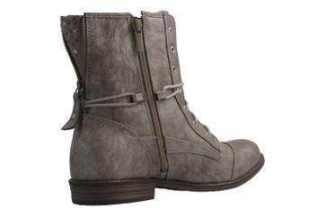 MUSTANG - Damen Boots - Silber Schuhe in Übergrößen – Bild 3