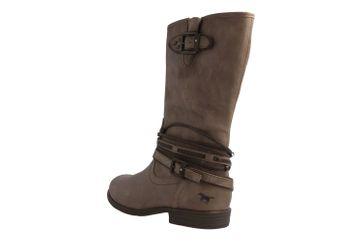 Mustang Shoes Stiefel in Übergrößen Beige 1157-531-318 große Damenschuhe – Bild 2