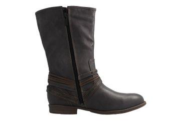 MUSTANG - Damen Stiefel - Grau Schuhe in Übergrößen – Bild 4