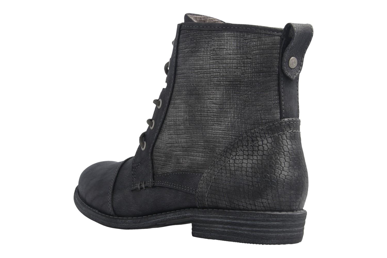 Mustang Shoes Boots in Übergrößen Grau 1157-549-200 große Damenschuhe – Bild 2