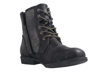 Mustang Shoes Boots in Übergrößen Grau 1157-549-200 große Damenschuhe – Bild 5