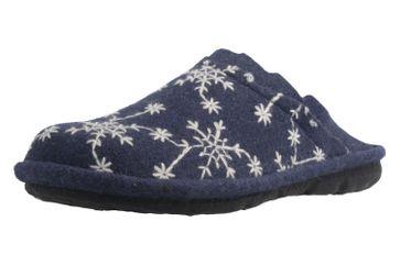 ROMIKA - Mikado 98 - Damen Hausschuhe - Blau Schuhe in Übergrößen