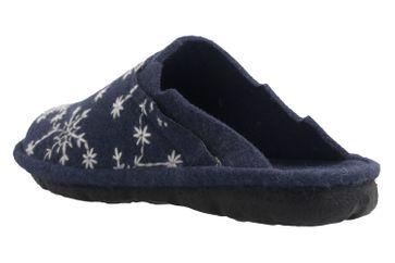 ROMIKA - Mikado 98 - Damen Hausschuhe - Blau Schuhe in Übergrößen – Bild 2