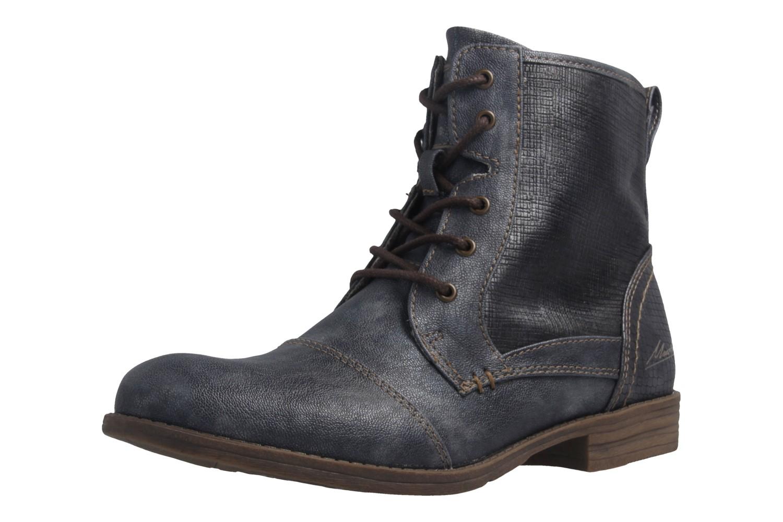 MUSTANG - Damen Boots - Blau Schuhe in Übergrößen – Bild 1