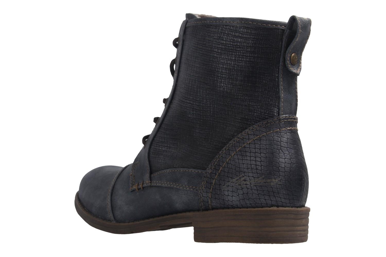 MUSTANG - Damen Boots - Blau Schuhe in Übergrößen – Bild 2