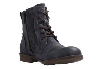 Mustang Shoes Boots in Übergrößen Blau 1157-549-820 große Damenschuhe – Bild 5